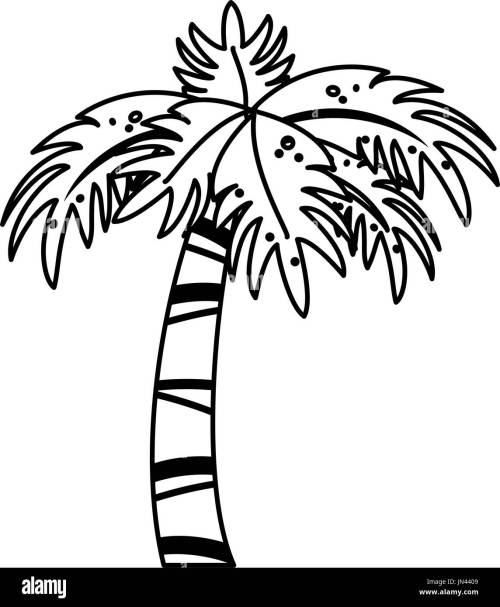 small resolution of palm tree icon image stock image