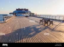 England Norfolk Cromer Pier Stock &