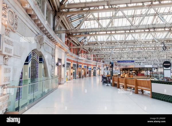 Waterloo Station London England