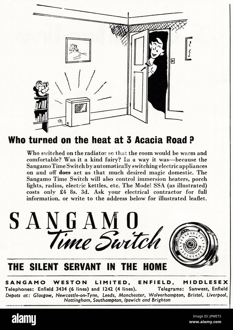 Sangamo Electric Company Nj