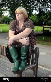 Women Wearing Hunter Boots Green