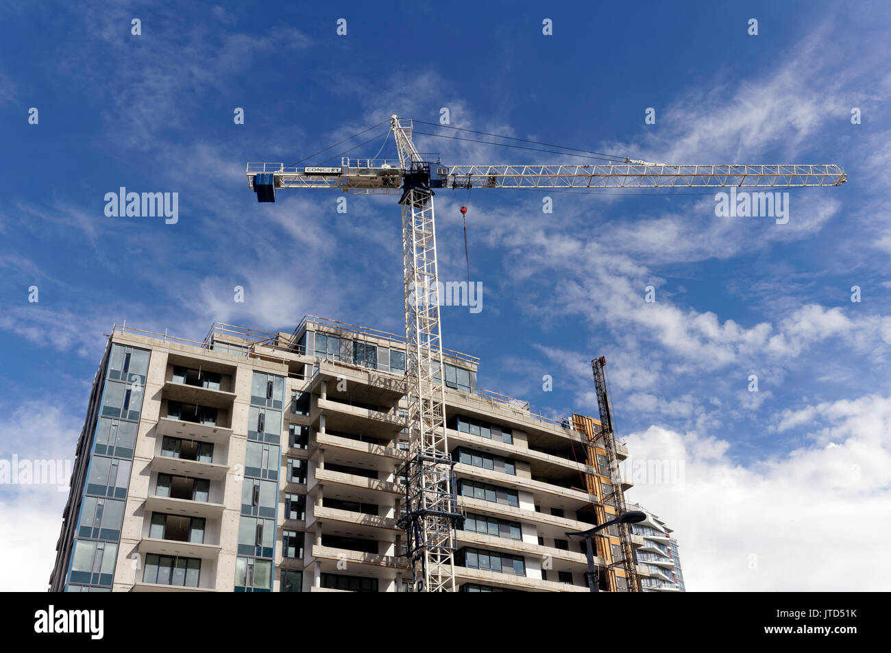 tower crane and high
