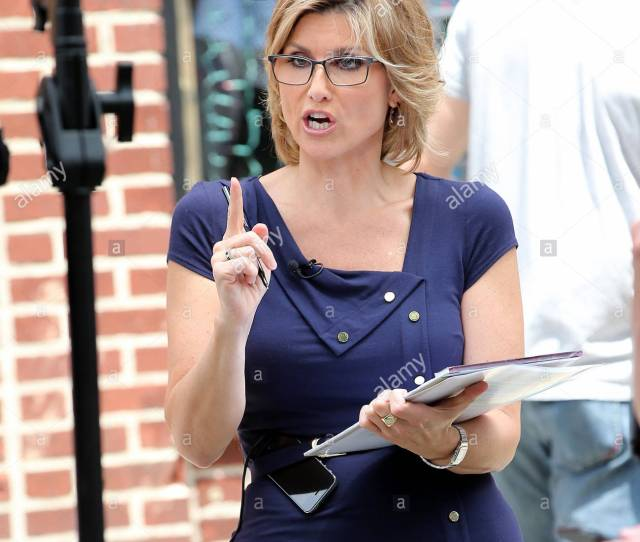 Ashleigh Banfield Canadian American Journalist Ashleigh Banfield Reports Outside The Stonewall Inn For Gay Pride Week In New York City On June 26 2015