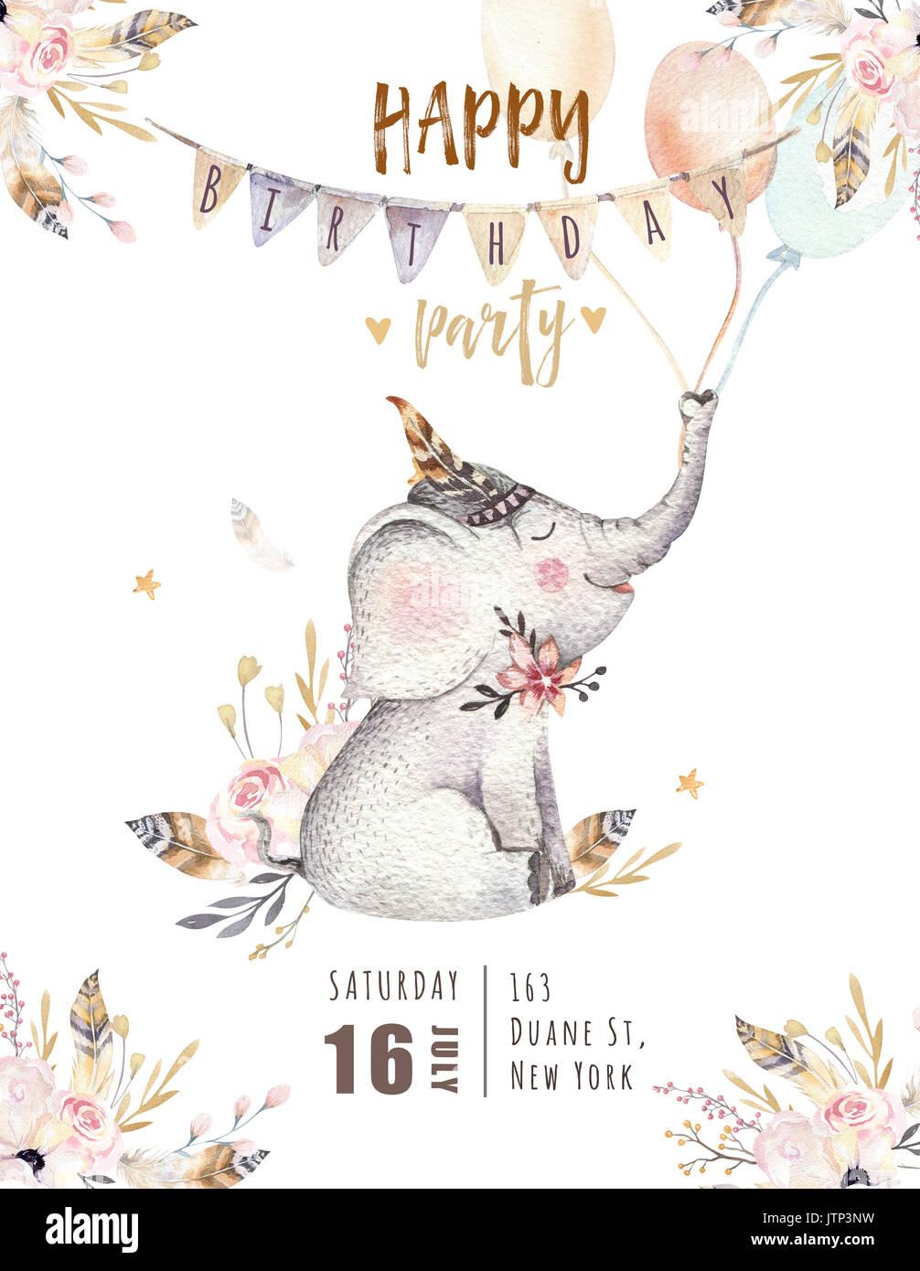 cute baby elephant nursery