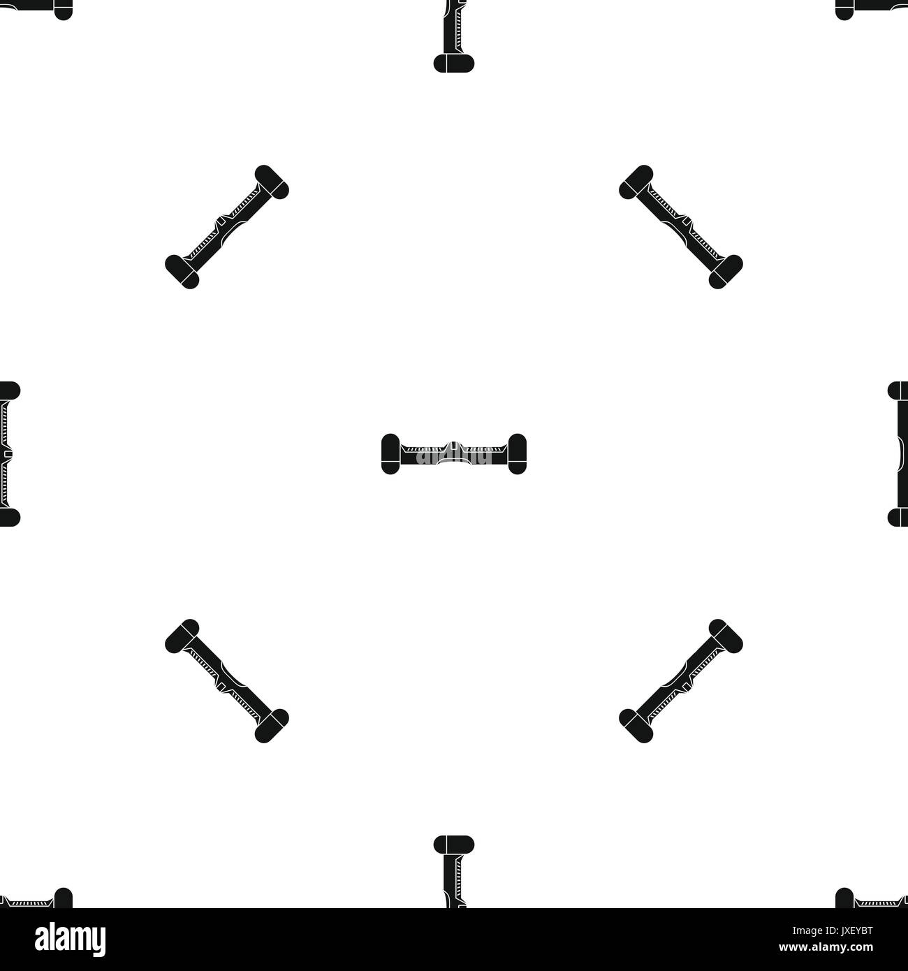 hight resolution of dual wheel self balancing electric skateboard pattern seamless black stock image
