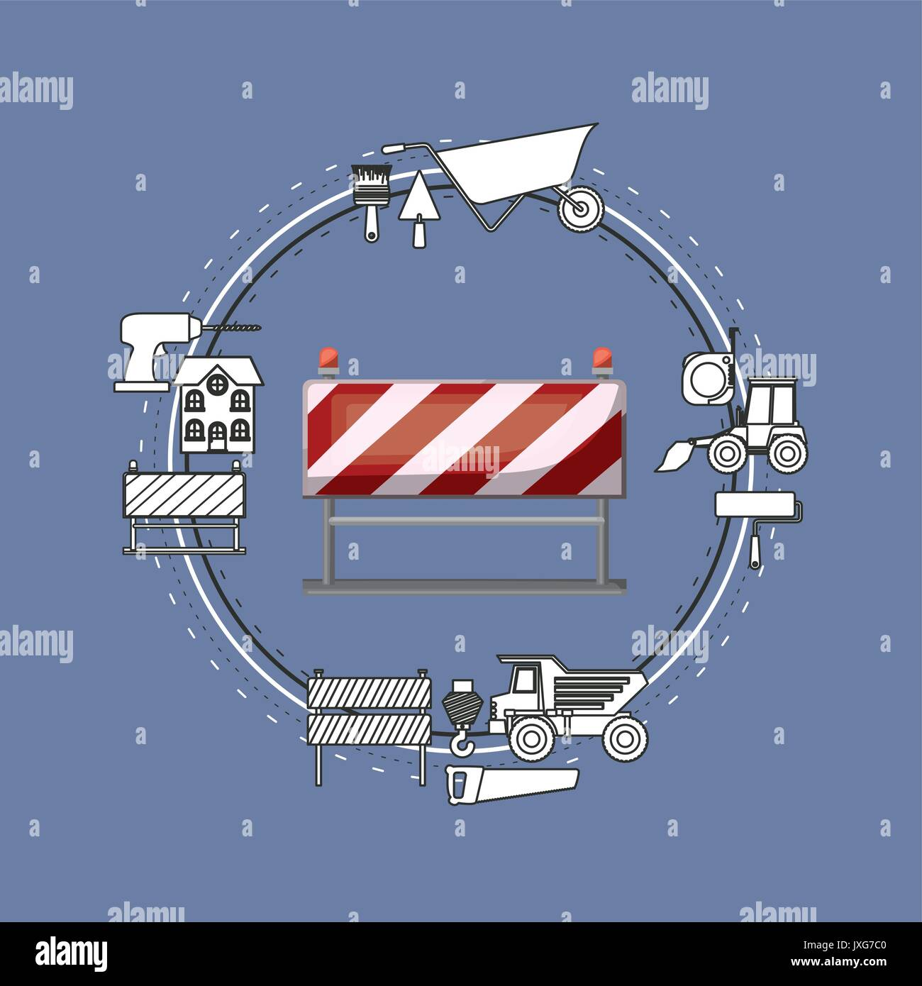 Caution Tape House Stock Photos  Caution Tape House Stock Images  Alamy
