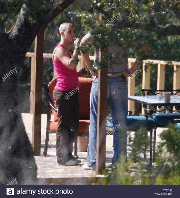 Britney Spears. Bald Spears Checked