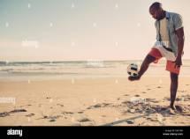 Feet Soccer Ball Stock &
