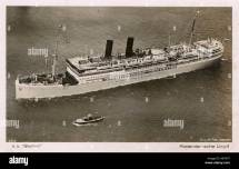 Cruise Ships 1930s Stock &