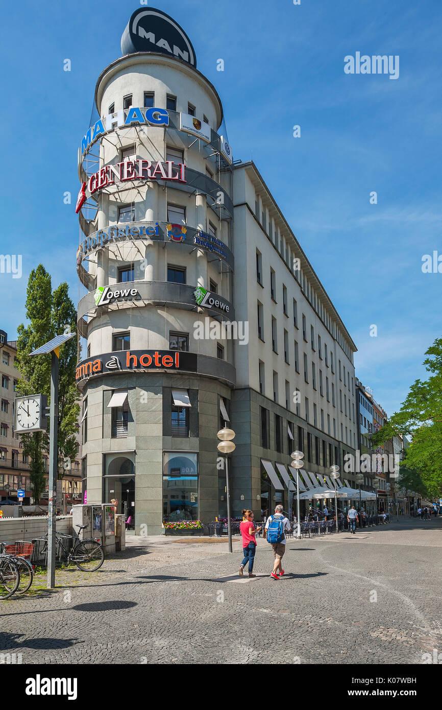 Anna Hotel Munich Bavaria Germany Stock Photo 155066901