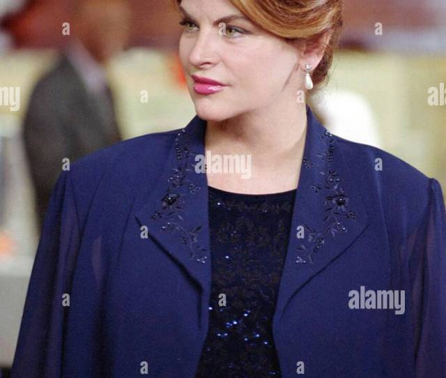Kirstie Alley Family Sins 2004 Stock Image