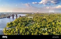 Dnepr River In Kiev Stock &