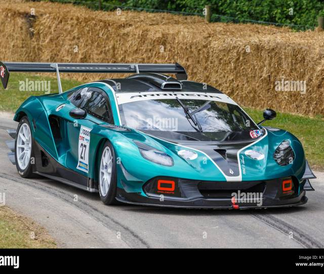 Arrinera Hussarya Gt Endurance Racer With Driver Anthony Reid At The  Goodwood Festival Of
