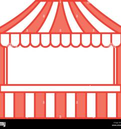 ticket shop carnival icon stock vector [ 1300 x 1166 Pixel ]