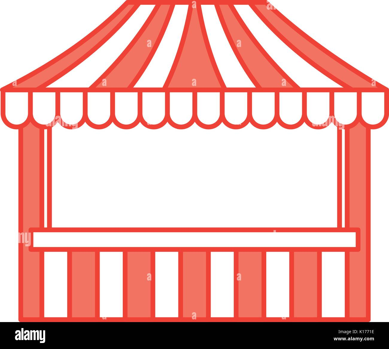 hight resolution of ticket shop carnival icon stock vector