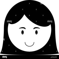 girl happy child icon image vector illustration design black and Stock Vector Image & Art Alamy