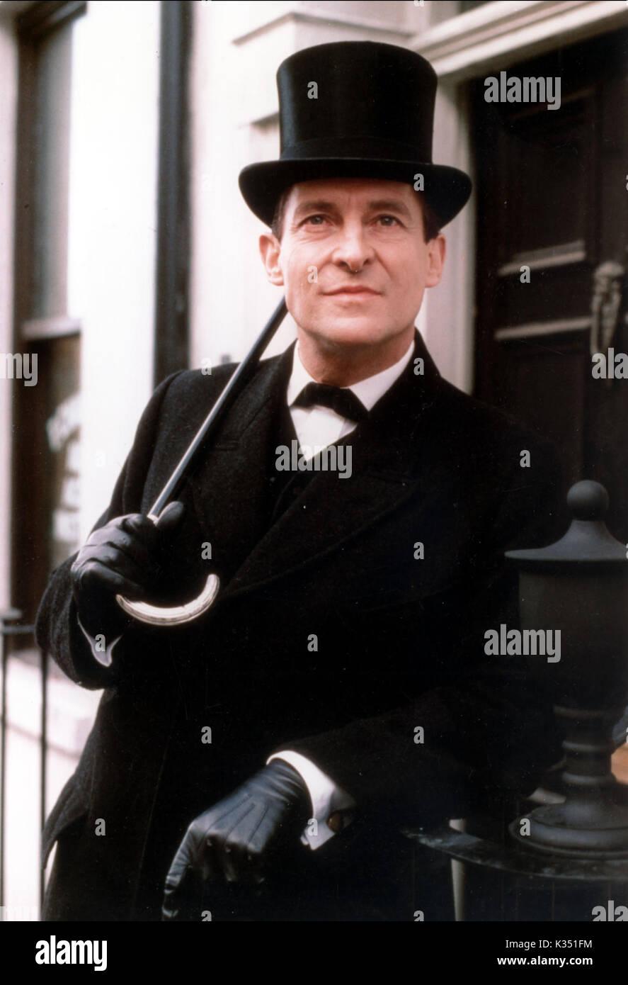 Sherlock Holmes Jeremy Brett : sherlock, holmes, jeremy, brett, ADVENTURES, SHERLOCK, HOLMES, JEREMY, BRETT, Stock, Photo, Alamy