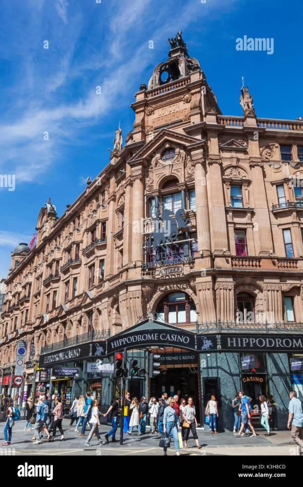 Hippodrome Casino London Stock & - Alamy