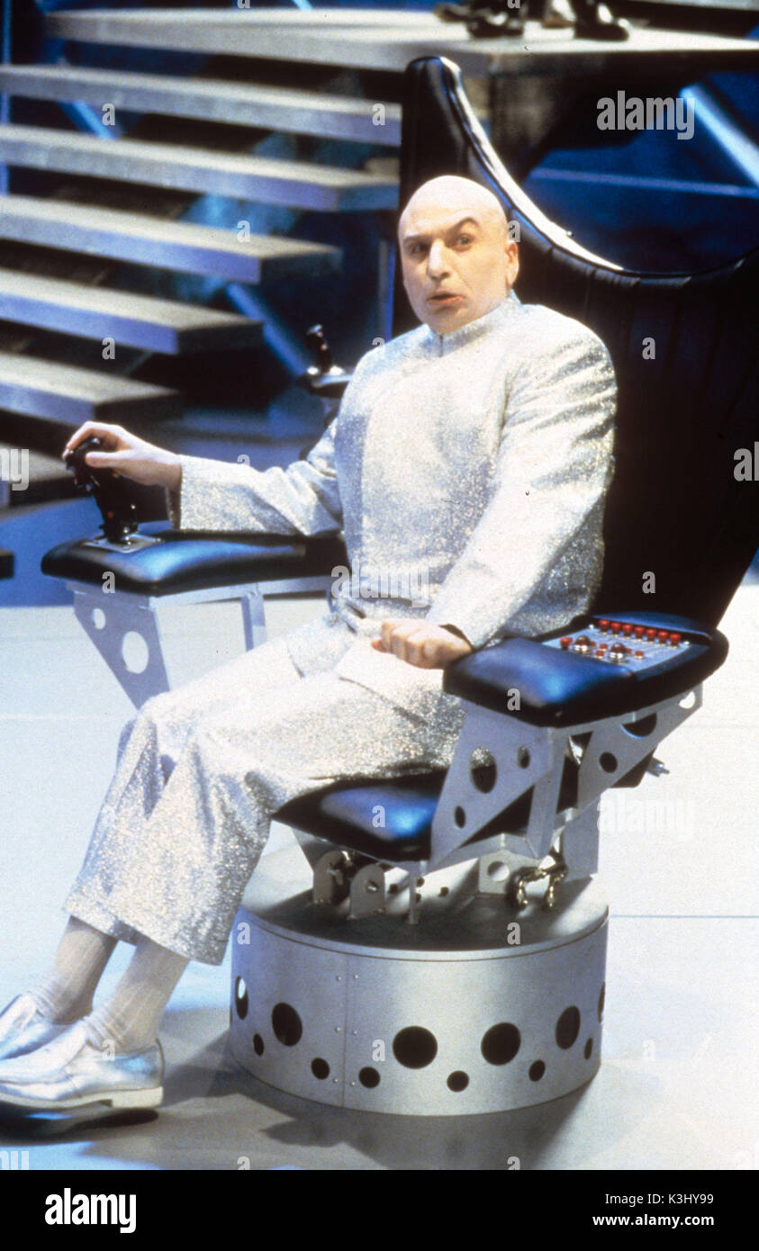 dr evil chair ivory covers spandex austin powers the spy who shagged me mike myers as date 1999