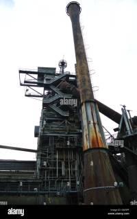 Blast Furnace Abandoned Steel Mill Stock Photos & Blast ...
