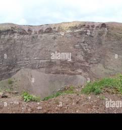 vesuvius crater volcano italy stock image [ 1300 x 704 Pixel ]