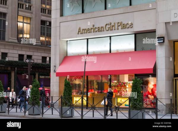 New York City November 19 2015 The American Girl Place