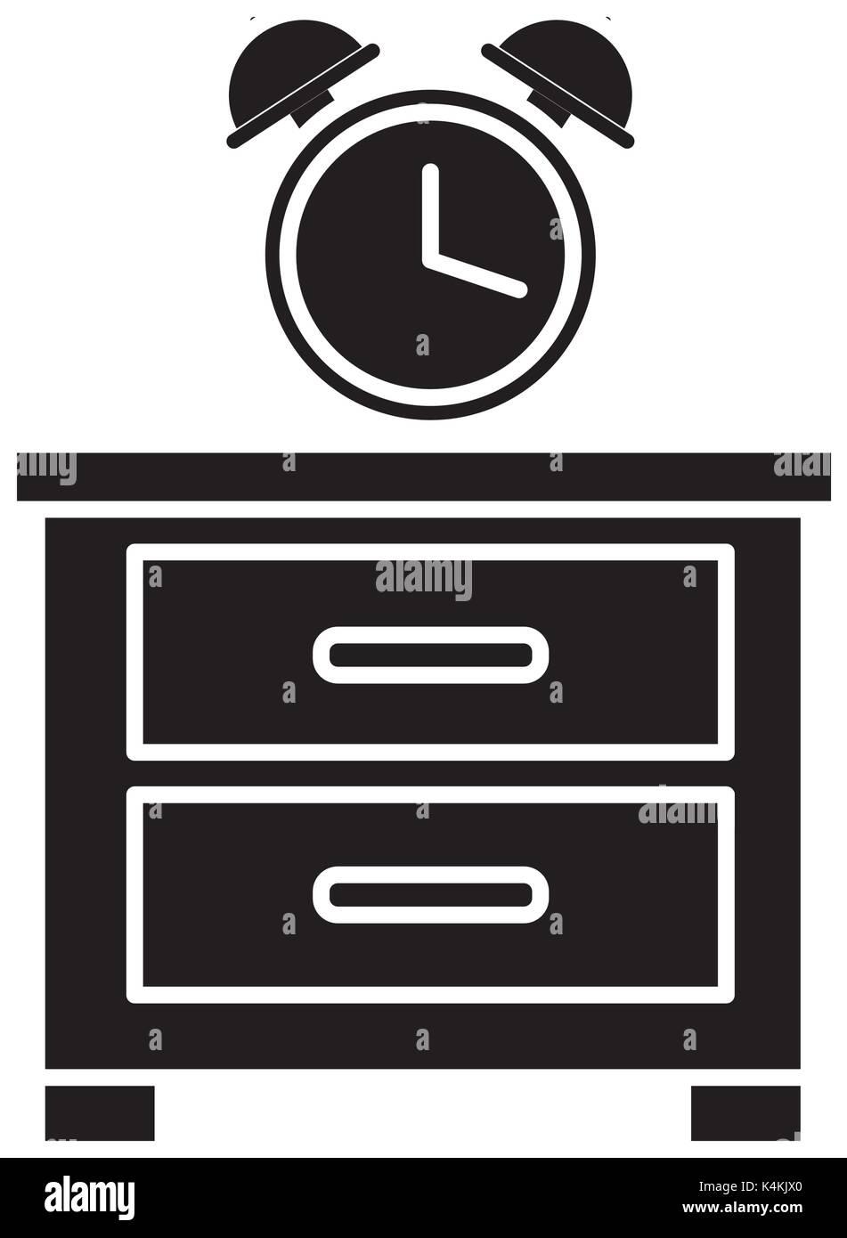 Nightstand, Clock Stock Photos & Nightstand, Clock Stock