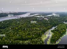 Panoramic View Of Kiev City With Dnieper River And