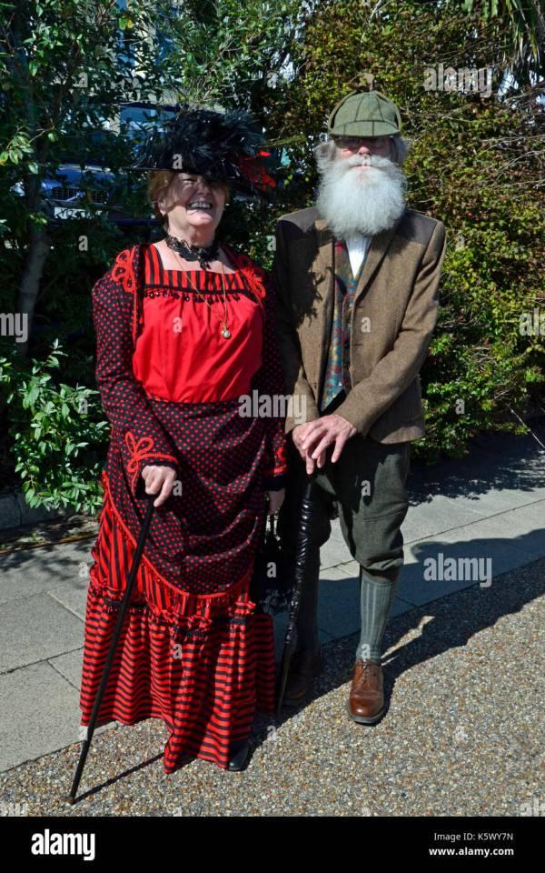 Steampunk Couple Stock &