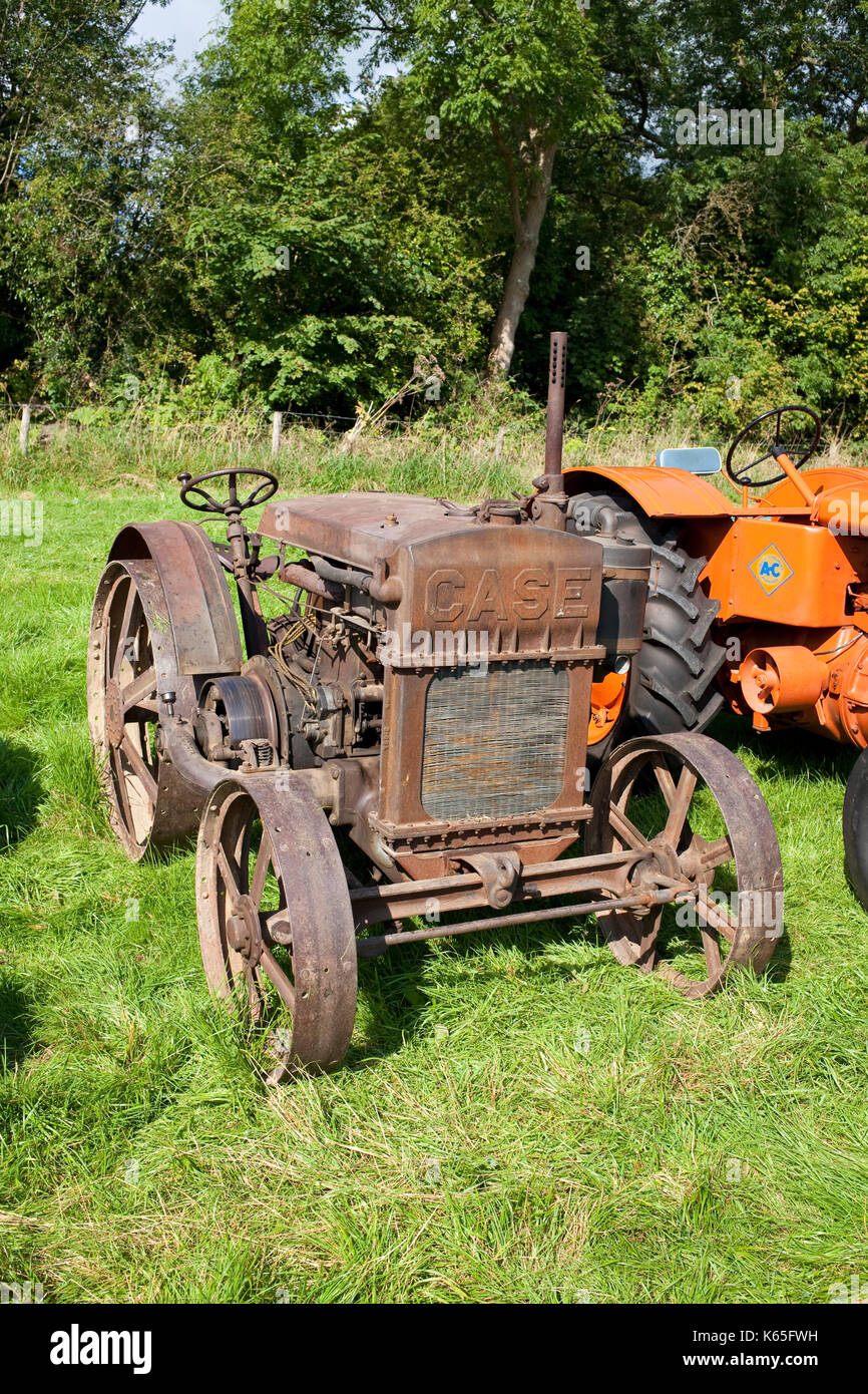 Old Farm Tractors For Sale : tractors, Vintage, Tractor, Resolution, Stock, Photography, Images, Alamy