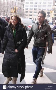 Sebastian Stan And Leighton Meester Stock