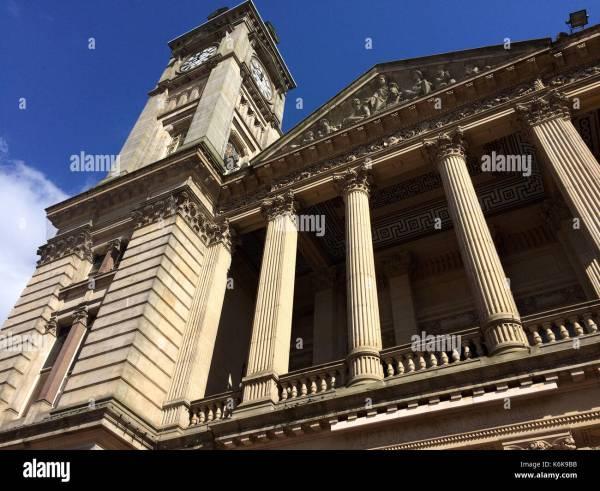Victorian British Colonial Style Architecture Stock &