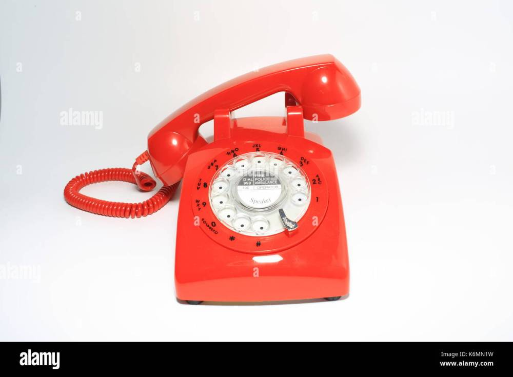 medium resolution of retro rotary dial phone on call with no body hang up by hollow man