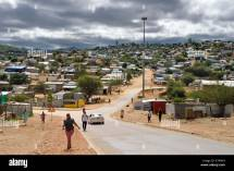 Namibia Khomas Region Windhoek Katutura Township Stock