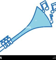 trumpet notes wind musical instrument horn [ 1300 x 1127 Pixel ]
