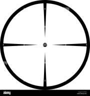 crosshair target stock &