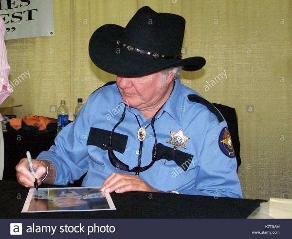James Hazzard County Sheriff Rosco Coltrane - Year of Clean Water