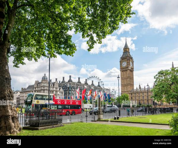 Houses Parliament Palace Westminster London Stock &