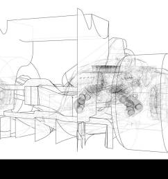 formula 1 car abstract drawing tracing illustration of 3d stock image [ 1300 x 819 Pixel ]