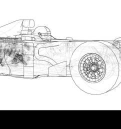model formula 1 car wire frame eps10 format vector rendering of 3d [ 1300 x 610 Pixel ]