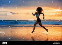 Barefoot Running Stock &