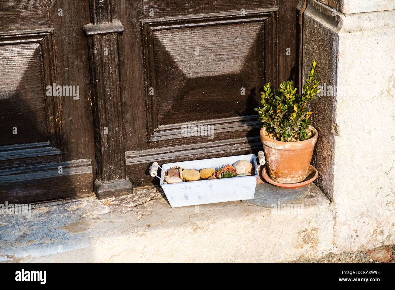 Wooden Doorstep
