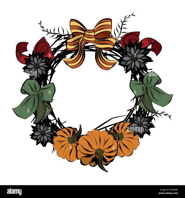 wreath template printable # 61