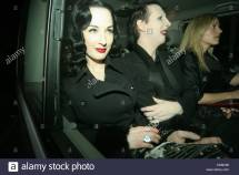 Dita Von Teese And Manson Stock &