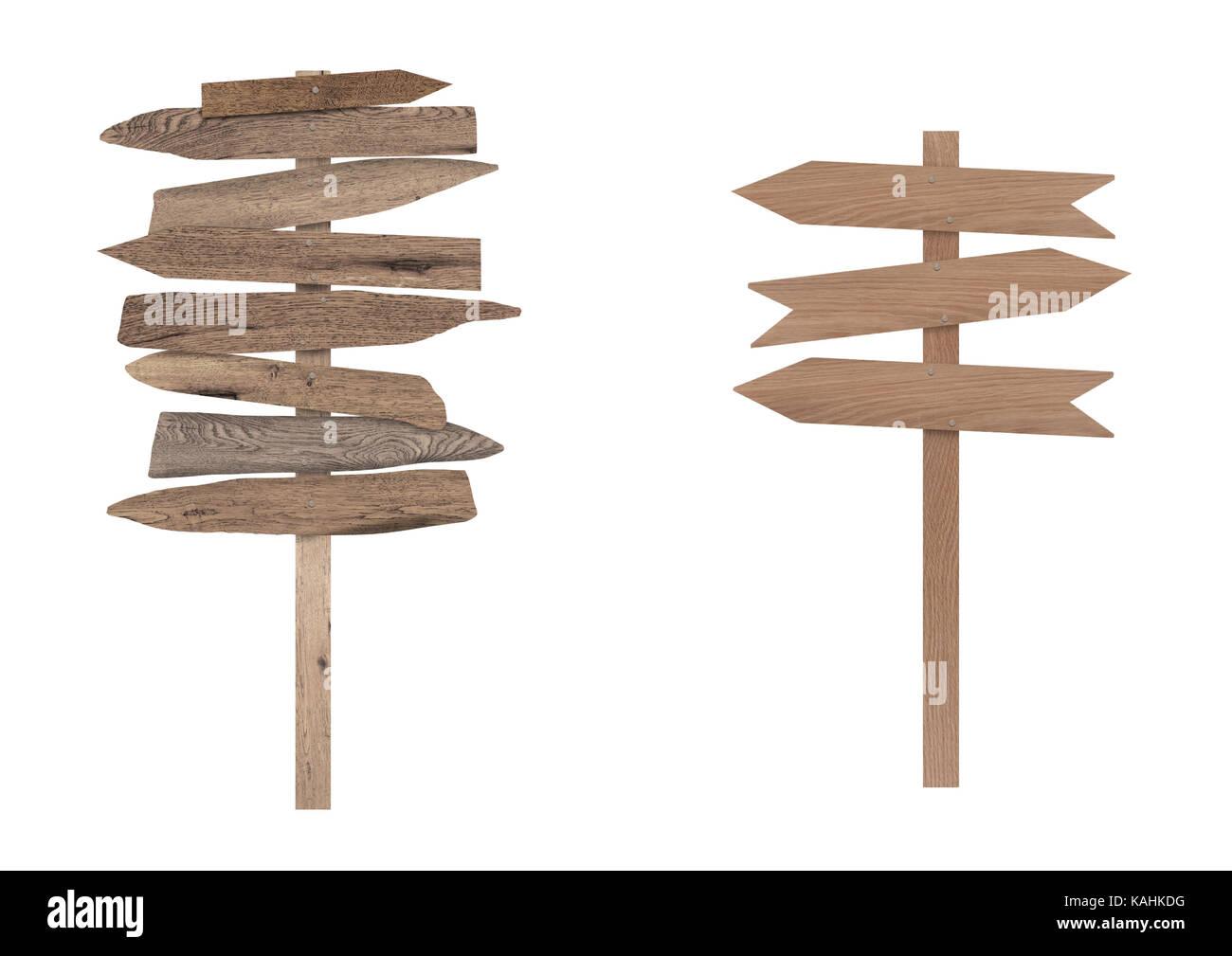blank wooden directional beach