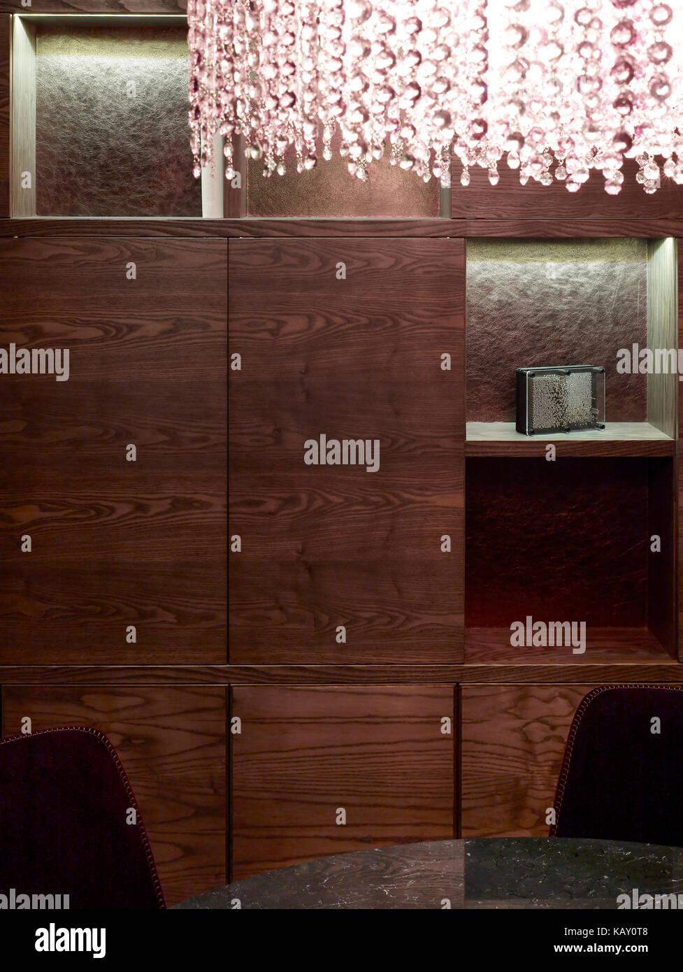 Detail Of Living Room Joinery Knightsbridge Apartment London Stock Photo Alamy