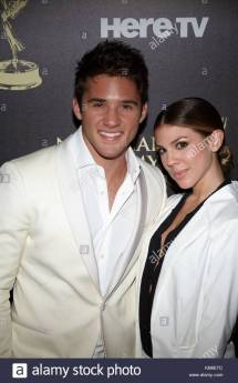 Kate Mansi and Casey Moss