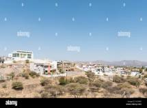 Windhoek Namibia - July 4 2017 View Of Auasblick