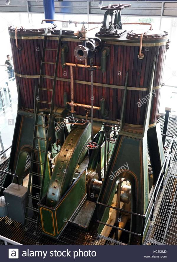James Watt Steam Engine Stock &
