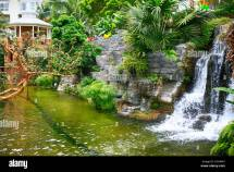 Waterfall In Botanical Garden Style Gaylord Opryland